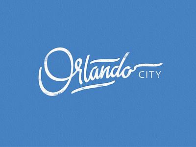 Orlando logo concept logo lettering sign brush orlando calligraphy city