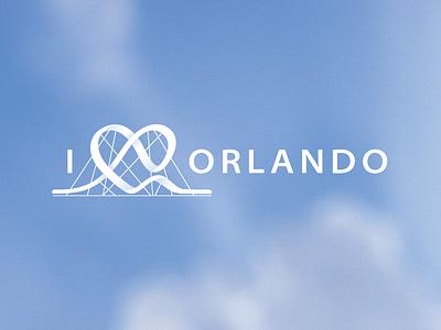 I ♡ Orlando logo orlando heart entertainment