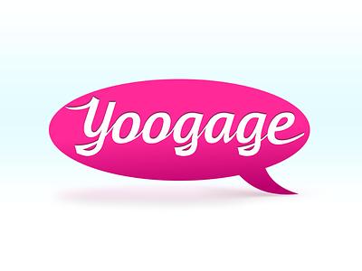 Yoogage Logo logo lettering yoogage