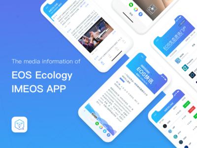 IMEOS APP - The media information of EOS Ecology.