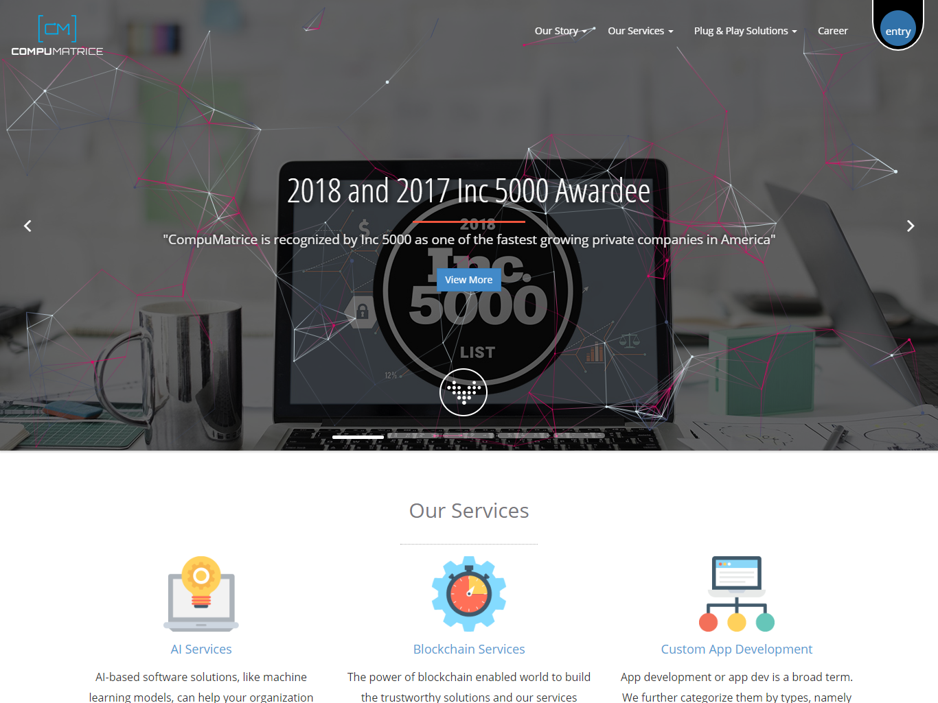 Website Home page by Pramod Mali on Dribbble