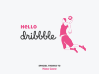 Hello Dribbble by Pradyumna KS