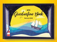 NITK Graduation book front cover