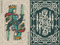 Fantasy warrior《Crusader Bohemond I》 弟仔 game card warrior middle ages fantasy warrior