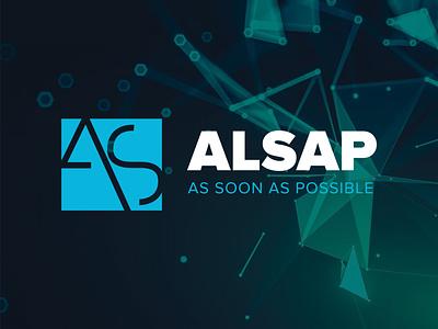 ALSAP logo vector branding tech item logo