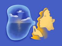 Dream-like Bubble