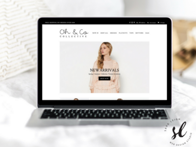 Oh & Co Collective Ecommerce Website