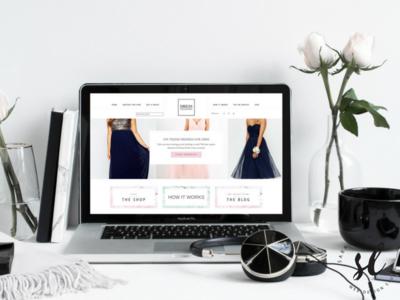 Dress Collective Ecommerce Website