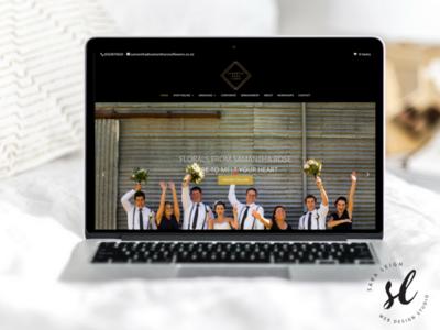 Samantha Rose Flowers Eccomerce Website