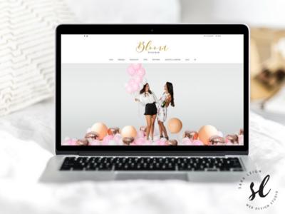 Bloom Boutique Ecommerce Website