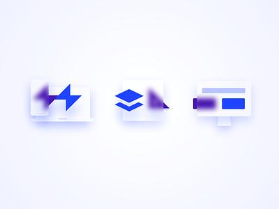 Glassmorphic icons icon set set minimal glassmorphism glass icons ui torus kit