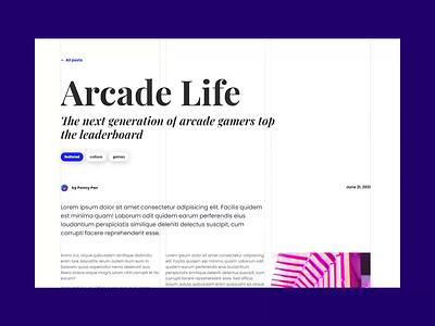 Magazine Layout - CodePen challenge web ux typography effects protoype ui html interaction animation css torus kit bootstrap