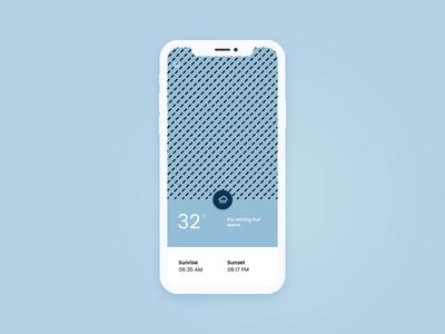 Minimalist Weather App