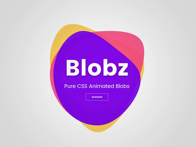 Blobs animation