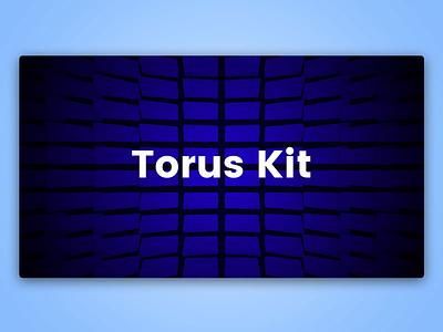 Torus Kit Experiments torus kit blocks landing flat ui html interaction css bootstrap animation