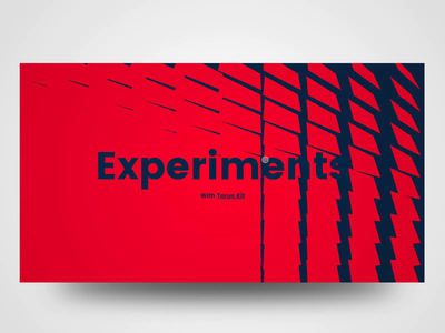 Torus Kit Experiments typography abstract motion minimal javascript animation torus kit landing flat html interaction css bootstrap