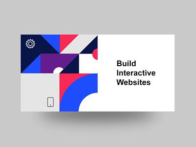 Masking and Clipping shapes geometrical vector minimal design landing flat torus kit ui html interaction css animation