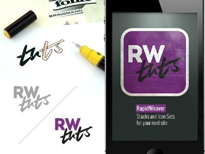 Logo / Icon for RWtuts logo icon rapidweaver corporate