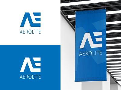 Aerolite logo design logo mockup modern logo modernlogo modern clean design logodesigner logodesign aerolitelogo dailylogochallenge rocketlogo spacelogo logodesignchallenge logo design challenge logo design logo