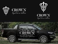 Crown logo design