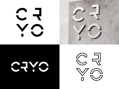 Cryo logo design modern typography cryosleep logo cryosleep cryo futuristic typography vector branding modern logo modernlogo logodesigner logo design logodesign logo design clean