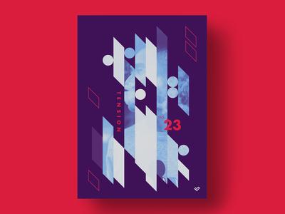 tension - poster design