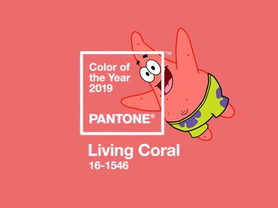 Patrick Star - Pantone 2019