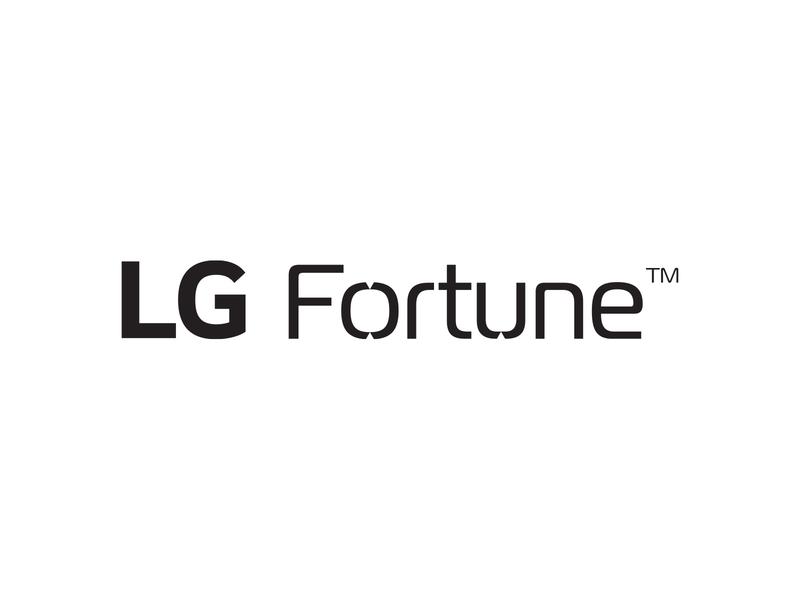 LG FORTUNE Device logo logo design typography branding lg fortune device logo lg