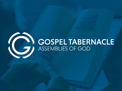 Gospel Tabernacle typography identity branding logo church