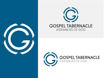 Gospel Tabernacle Branding typography logomark identity branding church logo