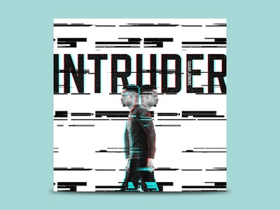 INTRUDER - Single Cover Art music single album art