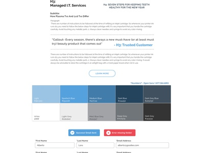 IT Style Guide web design spec guide ui style guide