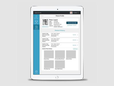 Dermatologists App medical healthcare ios mobile tablet ux ipad ui