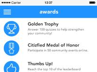 Awards citizfied