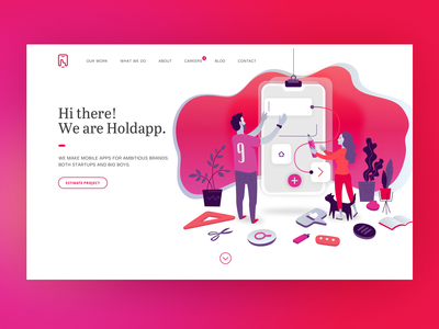 Holdapp Homepage