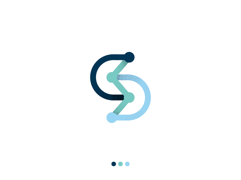 STRATOFLOW logo s logo monogram brand design design corporate logo design logo branding