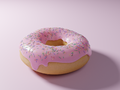 Donut tutorial learning donut blender 3d