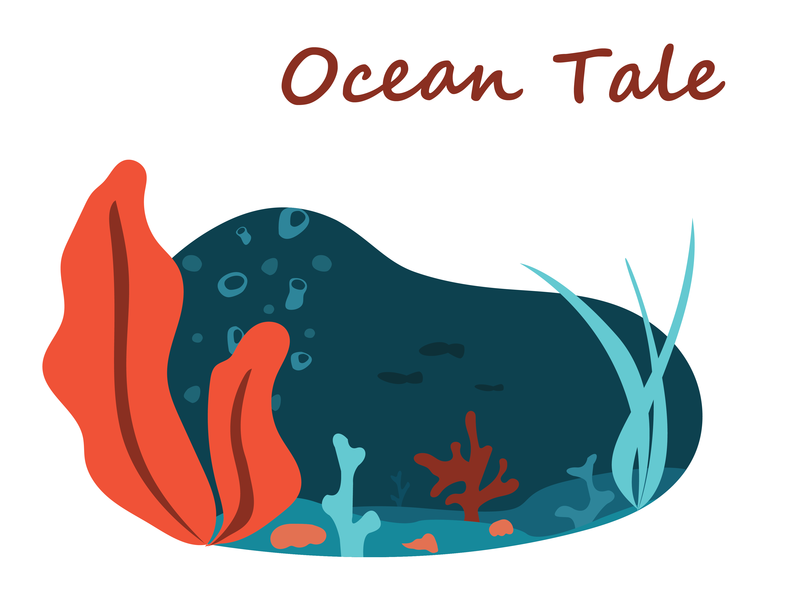Ocean Tale vector ocean illustration