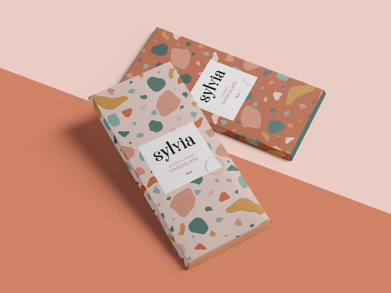 Sylvia Chocolate Branding
