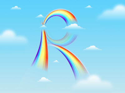 36daysoftype Challenge Day 17 color palette letter illustration digital illustration design rainbows rainbow illustration art illustrations illustration illustrator type design alphabet alphabetdesign typography typedesign 36daysoftype07 36daysoftype06 36daysoftype05 36daysoftype04 36daysoftype