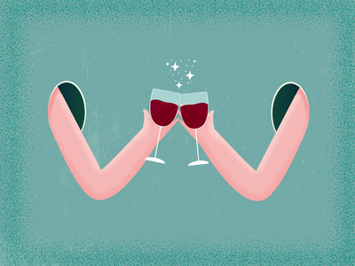 36daysoftype Challenge Day 22 colorpalette cheers wine illustration digital illustration design illustration art illustrations illustraion illustration illustrator typography alphabet alphabetdesign type design typedesign 36daysoftype07 36daysoftype06 36daysoftype05 36daysoftype04 36daysoftype