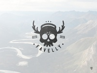 Skull logo outdoor event