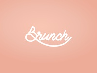 Brunch typography
