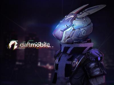 Cyberpunk Rabbit Concept Art