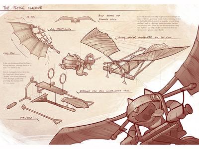Da Vinci Randy Sketches