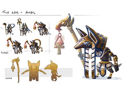 Character Concept: Anubis
