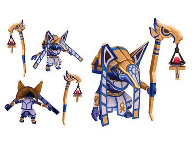 3d Character: Anubis