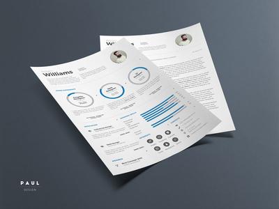 Infographic Resume Vol. 4 clean resume resume inspiration stylish resume lebenslauf infographic resume curriculum vitae resume cv
