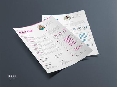 Clean Resume Vol. 5 clean resume resume inspiration stylish resume lebenslauf curriculum vitae resume cv