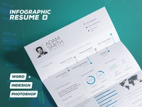 Infographic Resume/Cv Volume 8